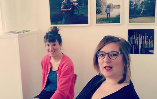 Rencontre avec Julie Maresq et Léa Mayer samedi 21 avril 2018